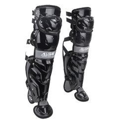 All Star System 7 Axis Youth Baseball Catcher's Leg Guards