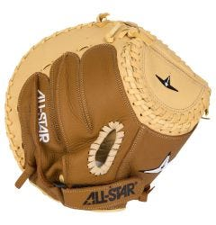 "All-Star Pro 33.5"" Youth Fastpitch Softball Catcher's Mitt"