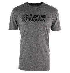 BaseballMonkey Distressed Logo Tee Shirt