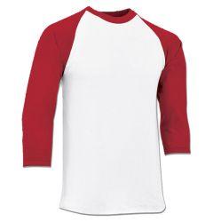 Champro Cotton 3/4 Sleeve Adult Baseball Shirt