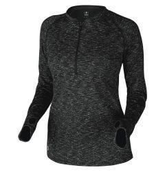 DeMarini Women's Quarter-Zip Fleece Pullover