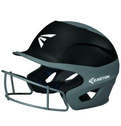 Easton Prowess Grip Two-Tone Fastpitch Softball Batting Helmet w/Facemask