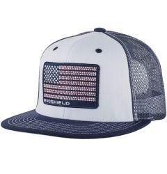 EvoShield Flag Patch Flatbill Snapback Hat