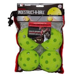 Franklin MLB Indestruct-A-Ball 12in. Training Balls - 4 Pack