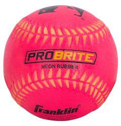Franklin MLB ProBrite Rubber Tee Ball