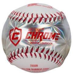 Franklin MLB Soft Strike Chrome Tee Ball