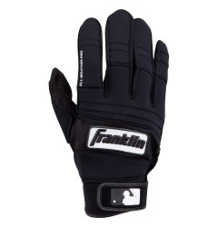 Franklin Adult All Weather Batting Glove - Black