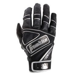Franklin Powerstrap Chrome Men's Batting Gloves