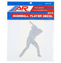 A&R Baseball Player Decal