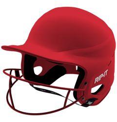 RIP-IT Vision Pro Matte Helmet featuring Blackout Technology