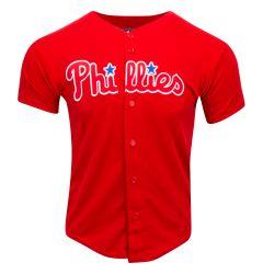 Philadelphia Phillies Majestic Cool Base Pro Style Adult Jersey