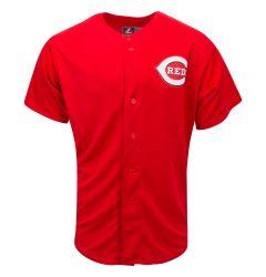 Cincinnati Reds Majestic Cool Base Pro Style Adult Jersey
