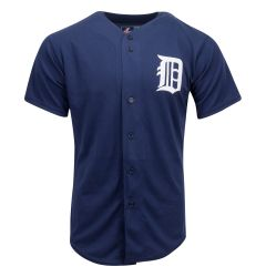 Detroit Tigers Majestic Cool Base Pro Style Youth Jersey