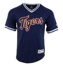 Detroit Tigers Majestic Cool Base V-Neck Youth Jersey