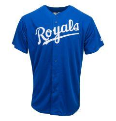 Kansas City Royals Majestic Cool Base Pro Style Adult Jersey