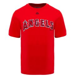 Los Angeles Angels Majestic Cool Base Evolution Adult T-Shirt