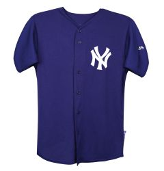 New York Yankees Majestic Cool Base Pro Style Adult Jersey