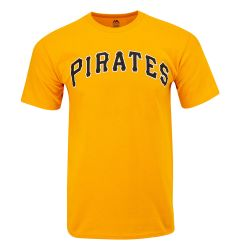 Pittsburgh Pirates Majestic MLB Youth Replica Crewneck T-Shirt