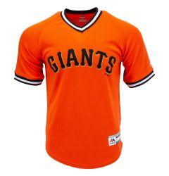 San Francisco Giants Majestic Cool Base V-Neck Youth Jersey