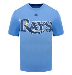 Tampa Bay Rays Majestic Cool Base Evolution Adult T-Shirt