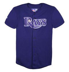 Tampa Bay Rays Majestic Cool Base Pro Style Adult Jersey