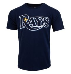 Tampa Bay Rays Majestic MLB Youth Replica Crewneck T-Shirt
