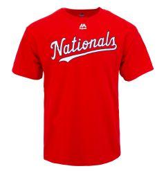 Washington Nationals Majestic Cool Base Evolution Adult T-Shirt