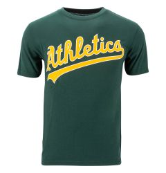 Oakland Athletics Majestic MLB Youth Replica Crewneck T-Shirt