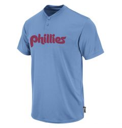 Philadelphia Phillies Majestic 1980 Cooperstown Cool Base 2-Button Youth Replica Jersey