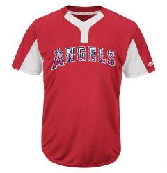 Majestic MAI383 MLB Premier Adult Jersey - Los Angeles Angels of Anaheim