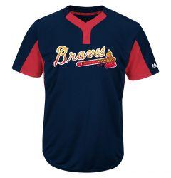 Atlanta Braves Majestic MAIY83 MLB Premier Youth Jersey