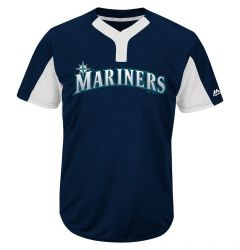 Seattle Mariners Majestic MAIY83 MLB Premier Youth Jersey