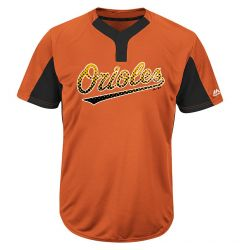 Majestic MAIY83 MLB Premier Youth Jersey - Baltimore Orioles