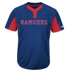 Texas Rangers Majestic MAIY83 MLB Premier Youth Jersey