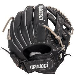 "Marucci FP225 Series 11.5"" Fastpitch Softball Glove - Black/Gray - 2018 Model"