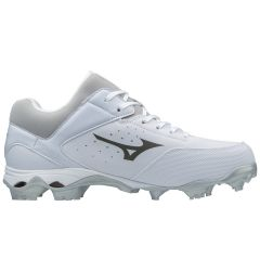 Mizuno 9-Spike Advanced Finch Elite 3 Women's Low Molded Fastpitch Softball Cleats - White