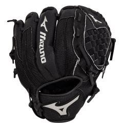 "Mizuno Prospect Series PowerClose 10"" Youth Baseball Glove - Black - 2019 Model"