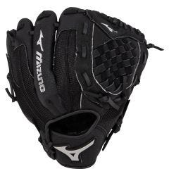 "Mizuno Prospect Series PowerClose 10.5"" Youth Baseball Glove - Black - 2019 Model"