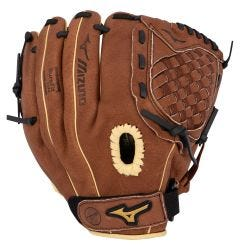 "Mizuno Prospect Series PowerClose 11"" Youth Baseball Glove - Chestnut Brown - 2019 Model"