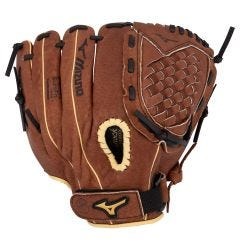 "Mizuno Prospect Series PowerClose 11.5"" Youth Baseball Glove - Chestnut Brown - 2019 Model"
