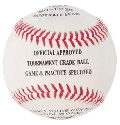 M^Powered 1313B Moderate Seam Leather Game Baseball - 1 Dozen