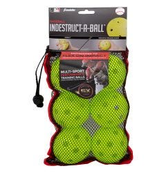 Franklin MLB Indestruct-A-Ball 9in. Training Balls - 6 Pack