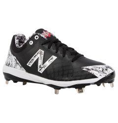 New Balance 4040v5 Men's Low Metal Baseball Cleats - Black Camo