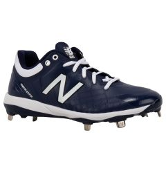 New Balance 4040v5 Men's Low Metal Baseball Cleats - Navy