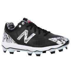 New Balance 4040v5 Men's Low TPU Molded Baseball Cleats - Black Camo
