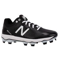 New Balance 4040v5 Men's Low TPU Molded Baseball Cleats - Black