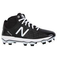 New Balance 4040v5 Men's Mid TPU Molded Baseball Cleats - Black