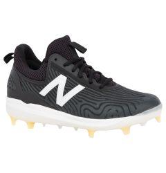 New Balance COMPv2 Men's Low TPU Molded Baseball Cleats - Black