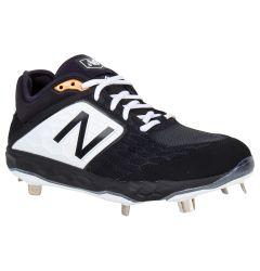 New Balance Fresh Foam 3000v4 Men's Low Metal Baseball Cleats - Black