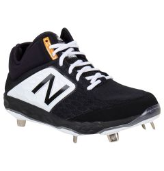 New Balance Fresh Foam 3000v4 Men's Mid Metal Baseball Cleats - Black